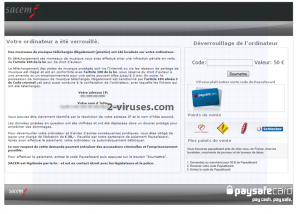 related image #1 from Sacem virusas
