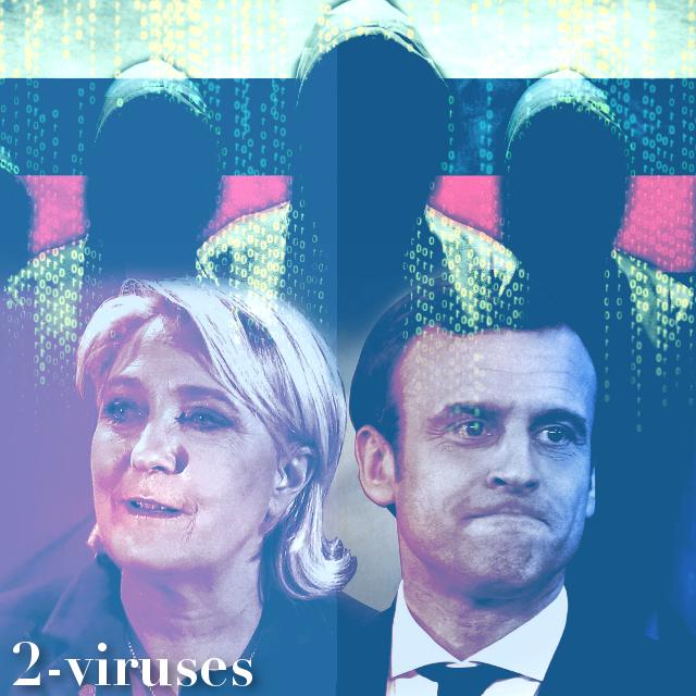 Rusijos programišiai įsilaužė į Prancūzijoje vykusių rinkimų infrastruktūrą