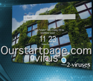 Ourstartpage.com virusas