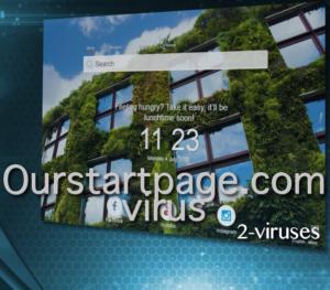 Ourstartpage.com virusas