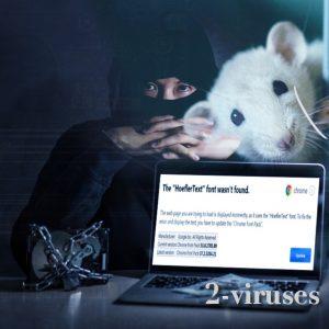 "Ar gali ""HoeflerText"" pranešimas sukelti virusus ar net Locky?"