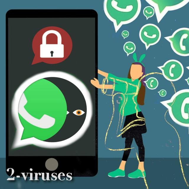Pavojus WhatsApp programos grupiniuose pokalbiuose