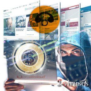 Kriptovaliutų kasybos virusai platinami per valstybinių institucijų svetaines